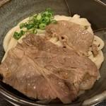 うだま - 肉ぶっかけうどん(冷)