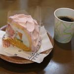 うろこや - 料理写真:宝石箱とコーヒー