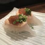 立ち寿司 杉尾 - 皮はぎ肝付き
