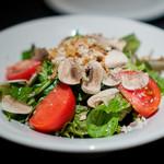 the ringo - フレッシュマッシュルームのサラダ