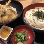得得 - 料理写真:北海道天丼セット♪ 1.080円