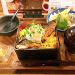 砦 - サバ重  +ミニ天ぷら