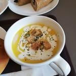 パトンキ - 豆乳でつくったかぼちゃスープ 340円(税込)