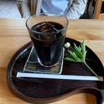 カフェミヤマ - トラジャ水出しアイスコーヒー 500円