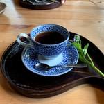 カフェミヤマ - トラジャマイルドコーヒー 450円