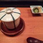 面 - 茶碗蒸し&お新香