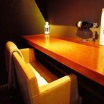 ボデガ - 内観写真:ゆったりカップルシート
