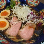 中華そば 埜邑 - 味玉中華そば(太麺)850円