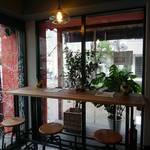 Asian Cafe & Diner Vivid Ajia - カウンター席(カップルシート)