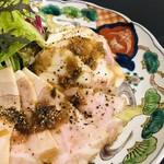 もち乃き - 糸島豚ローストポークマッシュポテト添え