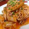 高坂サービスエリア(下り線)レストラン - 料理写真:五目餡かけかた焼そば