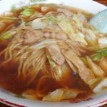 こばや食堂 - スープ入り焼きそば(並)650円