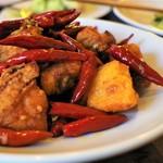 中国家常菜 燕郷房 - 辣子鶏(ラーズーチー)