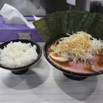 麺家 歩輝勇 - 歩輝勇ラーメンセット1000円