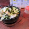 博世ラーメン - 料理写真:生野菜石焼チャーハンビビンバ