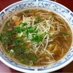 中華そば 蘭らん - 牛骨ラーメン(中)