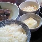 魚末 - ランチ 煮魚定食
