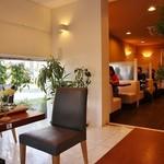 牛島製茶 和cafe Leaf Heart - カフェの雰囲気