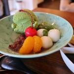牛島製茶 和cafe Leaf Heart - 抹茶アイスなど美味しい