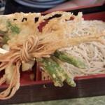 長平 - そばと豆の天ぷら