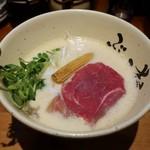 牛骨ら~めん ぶっこ志 - 牛白湯(780円)