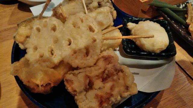 串天ぷらと日本酒バル かぐらの料理の写真