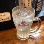 秀ちゃんラーメン - レモンサワー