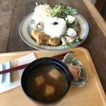 百姓庵 三九十(みこと) - オヒルプレート(税込1180円)