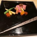 新宿 個室肉会席 一二 - ローストビーフ