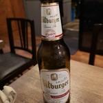 ビストロ ポーカー - 夫のノンアルビール