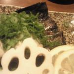 魚籠 - 牡蠣のこんぶ焼き