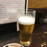 サケとスミビとロシュタン - 生ビール
