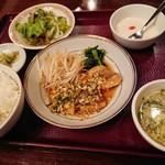 チャイナRai 中国料理 - カレイの唐揚げ油淋ソース