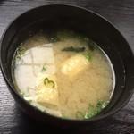112667665 - お味噌汁