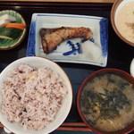 美松 - (2019/06)麦とろ(ぶり照焼付)