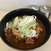 なかむら - 料理写真:カレーそば350円+天ぷら100円
