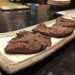炭焼き 牛たん ゑのじ - 牛たんの…西京焼き?味噌焼き?どっちか^^;