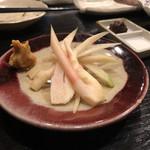 炭焼き 牛たん ゑのじ - 谷中生姜