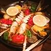 ポルポ - 料理写真:スキャンピのパエリア