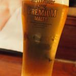 オンジェナ - 生ビール(ザ・プレミアム・モルツ樽生)