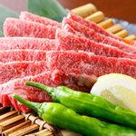 炭火焼肉 呼友 - 料理写真:和牛メス牛は柔らかく・味が濃く絶品
