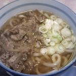 Dangouzakasabisuerianoborisensunakkukona - 肉うどん 600円