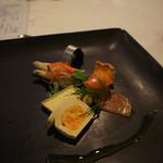 フレンチレストラン - 料理写真:前菜