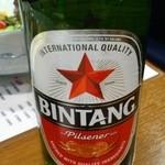 串屋松吉 - インドネシアのビンタンビール。コクがしっかりありウマい!