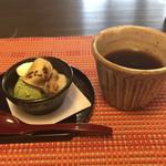 よも麺てんき - ランチのデザート&コーヒー
