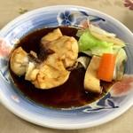 食事処マルタ活魚 - 【お刺身定食 1,080円】煮付け(魚はスズキ)