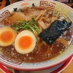 ちばき屋 - 支那そば(700円)、煮玉子(100円)