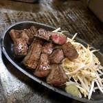 粉や - 宮崎牛ステーキ