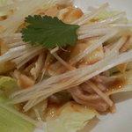 chaini-zukicchinourou - 師走セット(蒸し鶏の細切りサラダ)