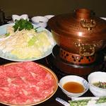 肉の斎藤 味斎 - 米沢牛、山形牛のしゃぶしゃぶも堪能できます。